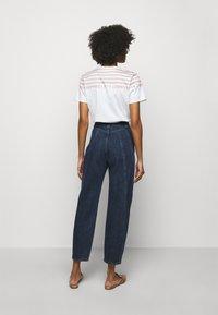 Alberta Ferretti - TROUSERS - Slim fit jeans - blue - 2