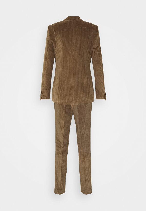 Shelby & Sons ASTON SUIT - Garnitur - brown/jasnobrązowy Odzież Męska IPVU