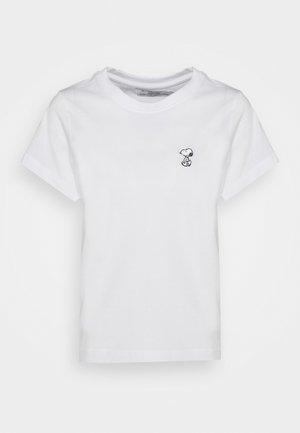 MYSEN SNOOPY - Print T-shirt - white