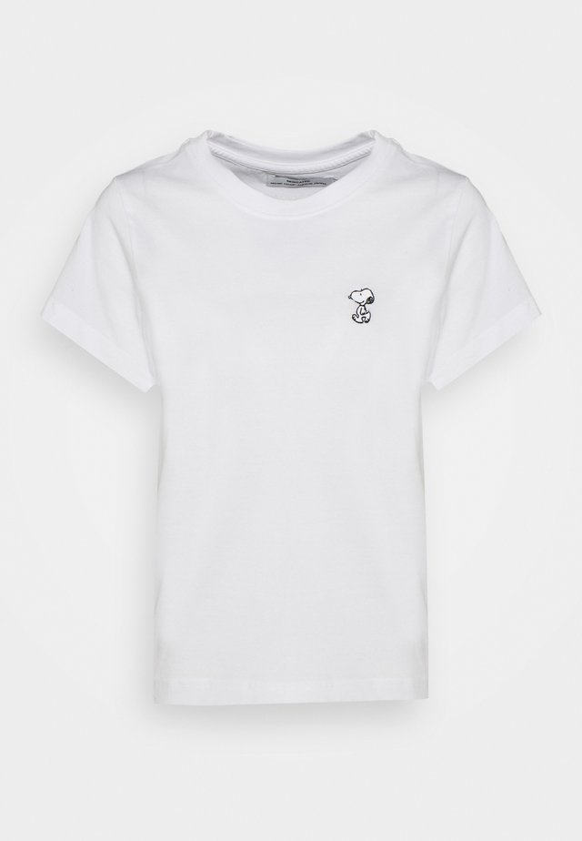 MYSEN SNOOPY - T-shirts med print - white