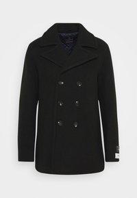 Scotch & Soda - CLASSIC PEACOAT  - Classic coat - fern - 0