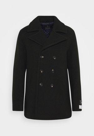 CLASSIC PEACOAT  - Płaszcz wełniany /Płaszcz klasyczny - fern