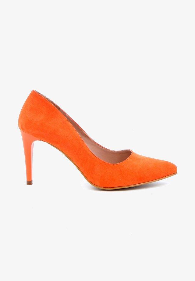 Hoge hakken - orange