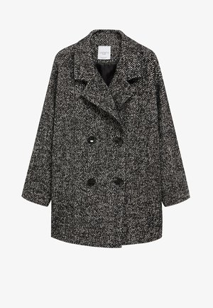 MARIA - Short coat - schwarz