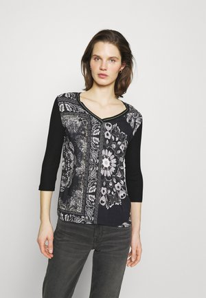 VARSOVIA - Long sleeved top - black