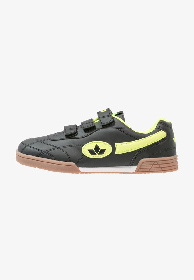 BERNIE - Zapatillas - schwarz/lemon