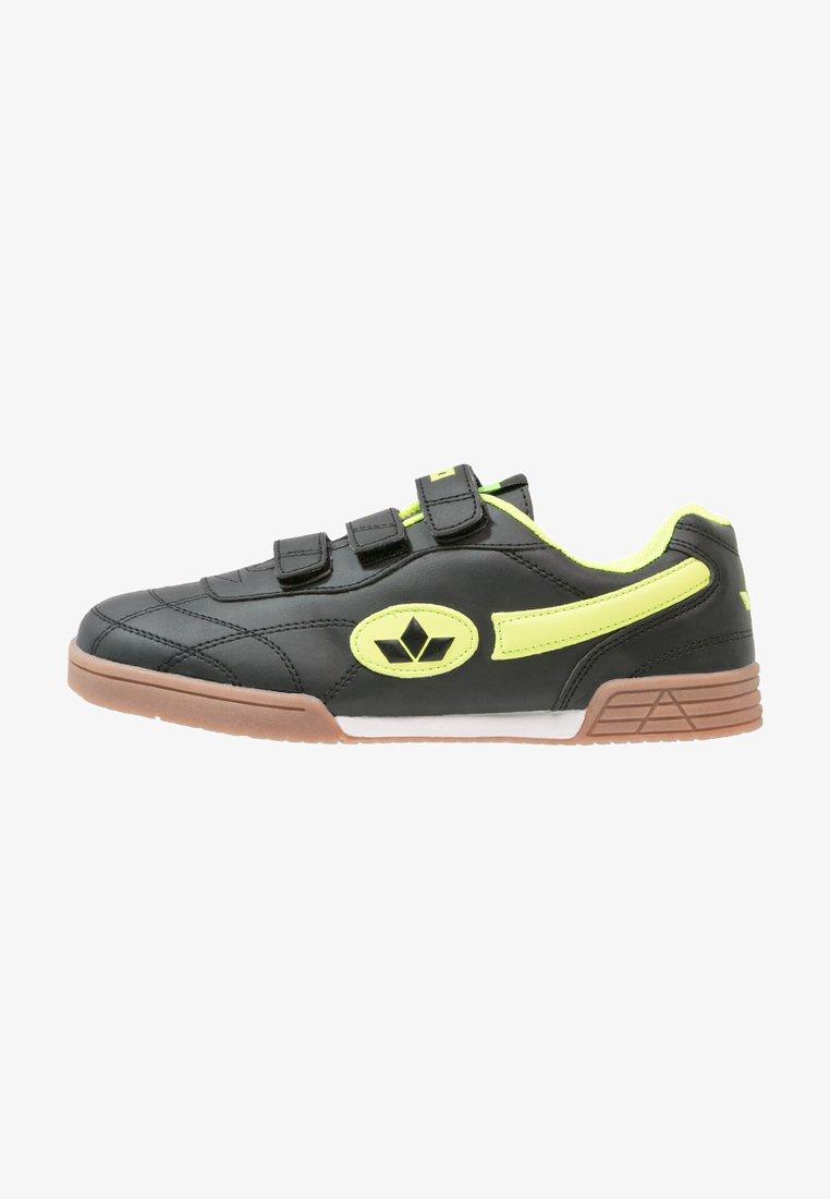 LICO - BERNIE - Trainers - schwarz/lemon