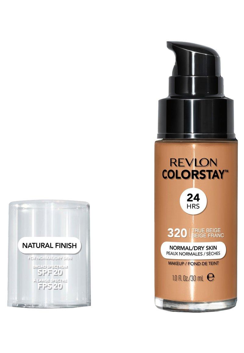 Revlon - COLORSTAY FOUNDATION FOR NORMAL TO DRY SKIN - Foundation - N°320 true beige
