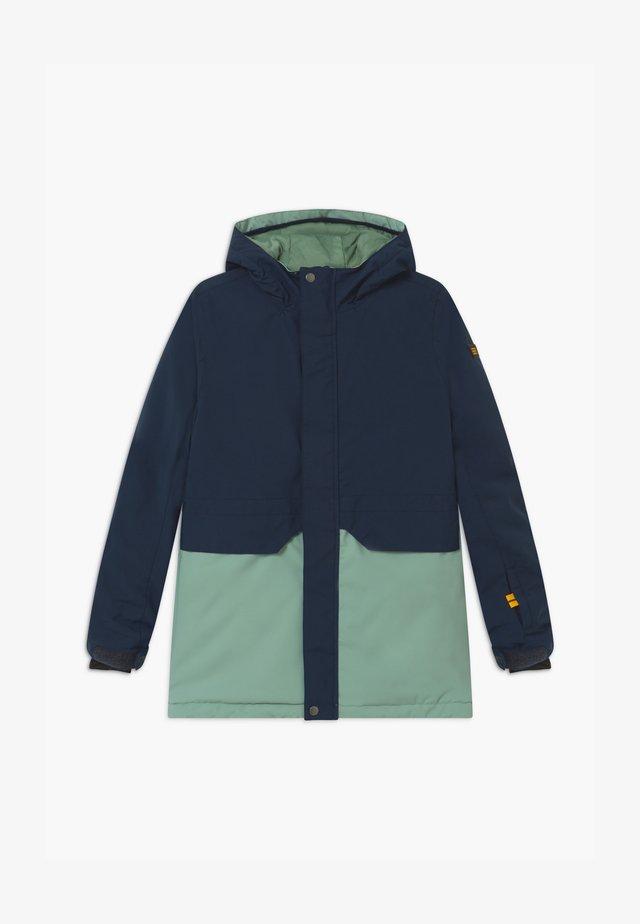 ZEOLITE  - Snowboard jacket - dark blue/mint