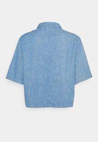 Lee - SHORTSLEEVE JACKET - Denim jacket - blue - 1