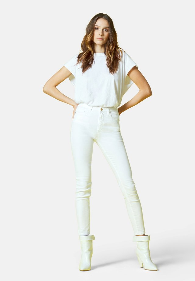 JEANS PER DONNA - Jeans slim fit - bianco