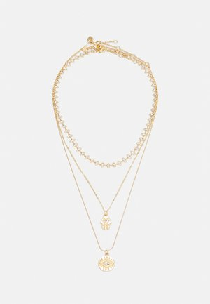 LEGARDOMWEN 3 PACK - Necklace - gold-coloured