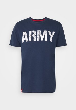 ARMY CRACK - T-shirt imprimé - new navy
