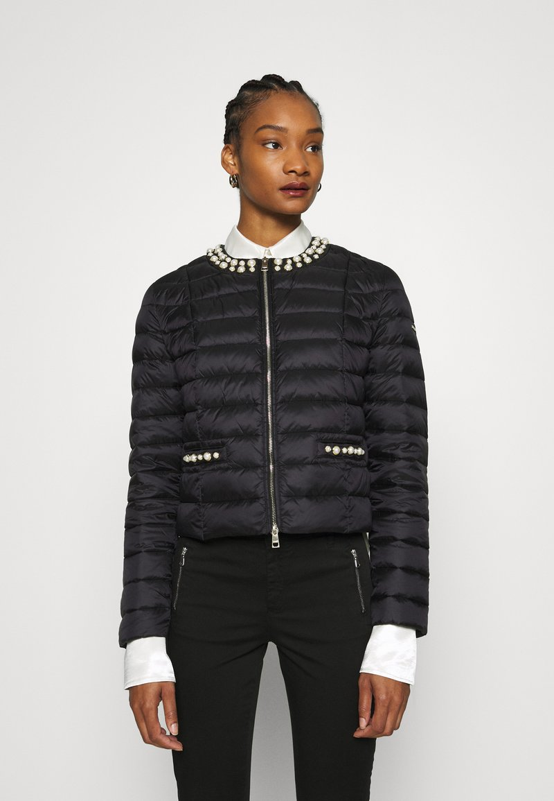 Liu Jo Jeans - IMBOTTITO CORT - Light jacket - nero
