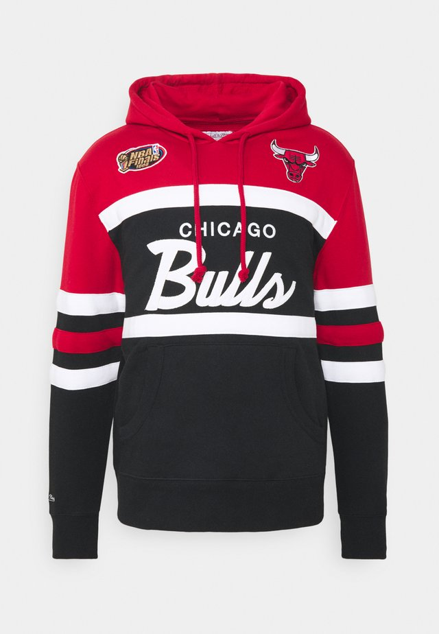 NBA CHICAGO BULLS HEAD - Article de supporter - red/black