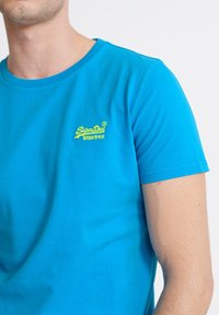 Superdry - NEON LITE TEE - Basic T-shirt - electric blue - 3