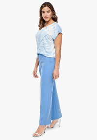 Triangle - REGULAR FIT: STRAIGHT LEG-HOSE - Trousers - blue - 4