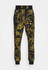 Versace Jeans Couture - PRINT REGALIA BAROQUE - Tracksuit bottoms - nero/oro - 6
