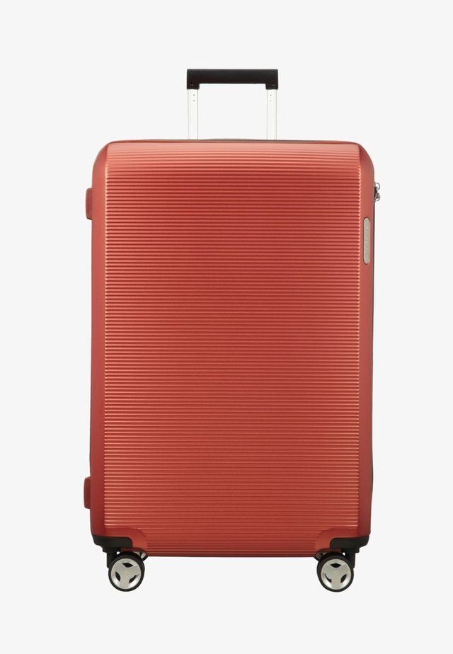 Wheeled suitcase - salmon