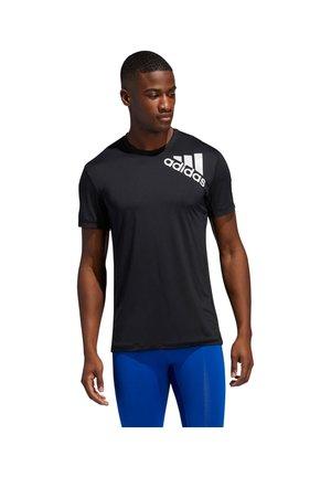 Print T-shirt - schwarz (200)