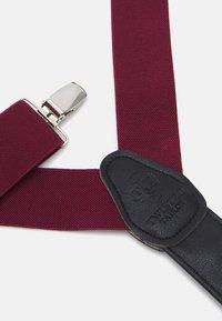 Twisted Tailor - PHIL BRACES - Pásek - bordeaux - 2