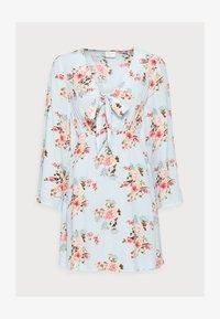 VILA PETITE - VIMESA SHORT DRESS PETITE - Day dress - cashmere blue - 4