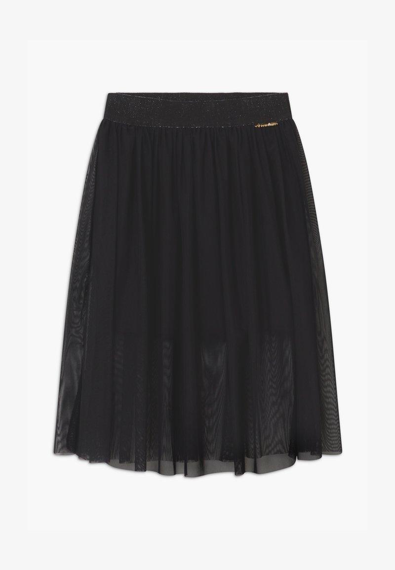 TWINSET - Áčková sukně - nero