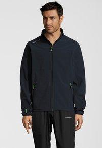 Whistler - DUBLIN - Soft shell jacket - navy - 0