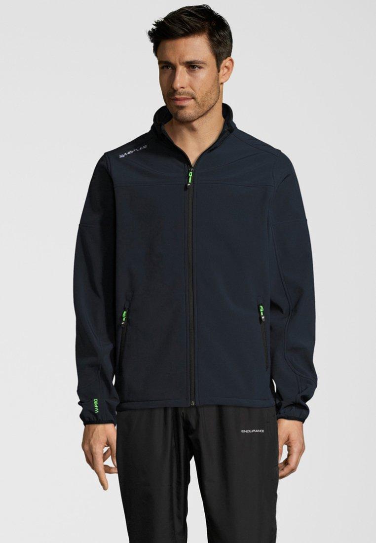 Whistler - DUBLIN - Soft shell jacket - navy