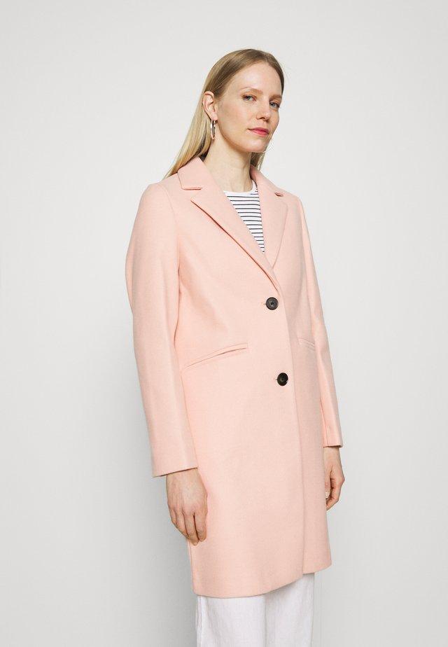 KNITBACK COAT - Klasický kabát - light pink