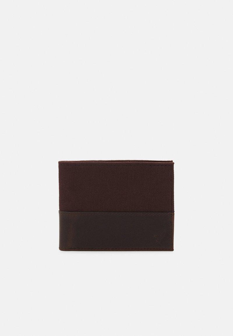 Pier One - LEATHER - Peněženka - dark brown