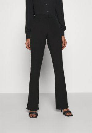 ONLELORA ELLY LIFE FLARE PANT - Trousers - black