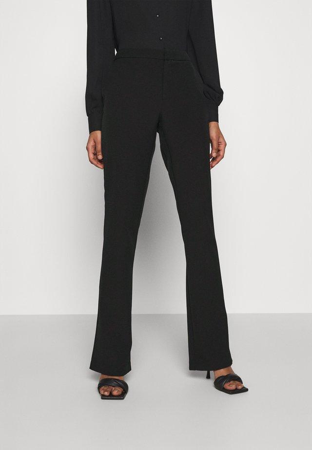 ONLELORA ELLY LIFE FLARE PANT - Pantaloni - black