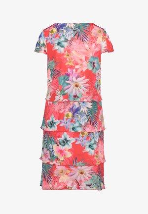 Day dress - pink/dark blue