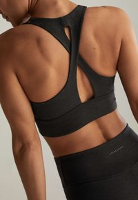OYSHO - WITH CROSSOVER BACK - Sports bra - dark grey - 2