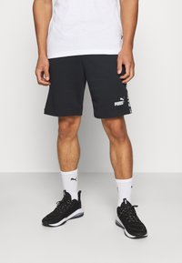 Puma - AMPLIFIED SHORTS - Pantaloncini sportivi - black - 0