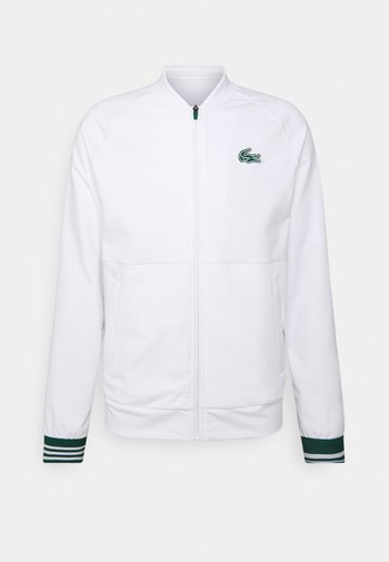 TENNIS JACKET MED - Sportovní bunda - white/swing