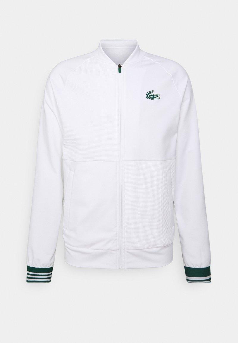 Lacoste Sport - TENNIS JACKET - Training jacket - white/swing