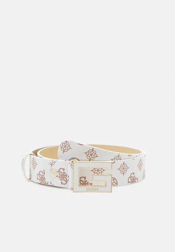 BRIGHTSIDE ADJUSTBLE PANT BELT - Belt - white