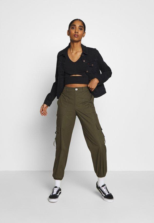 Even&Odd Top - black Kolor jednolity Odzież Damska CFOC TJ 2