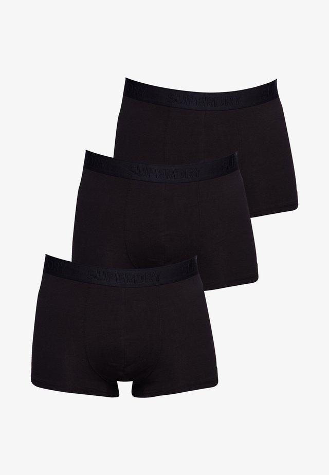 3 PACK - Boxershort - black multi