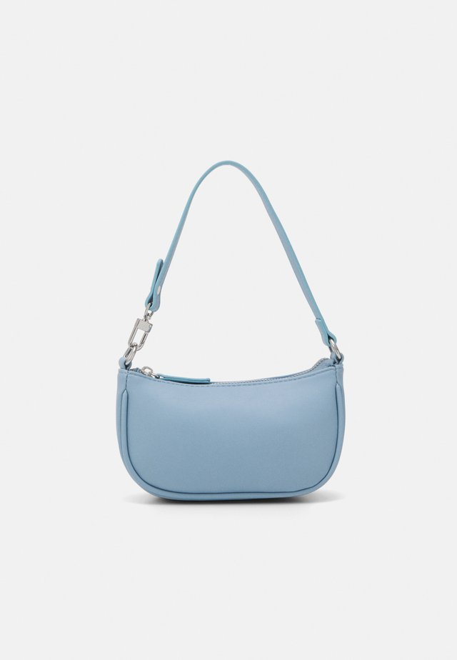 MINA MINI BAGETTE BAG - Håndveske - blue