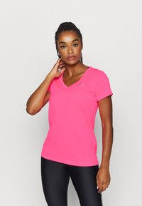 Under Armour - TECH - Basic T-shirt - cerise - 0