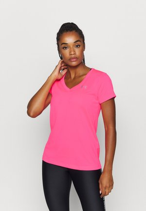 TECH - T-shirt basic - cerise