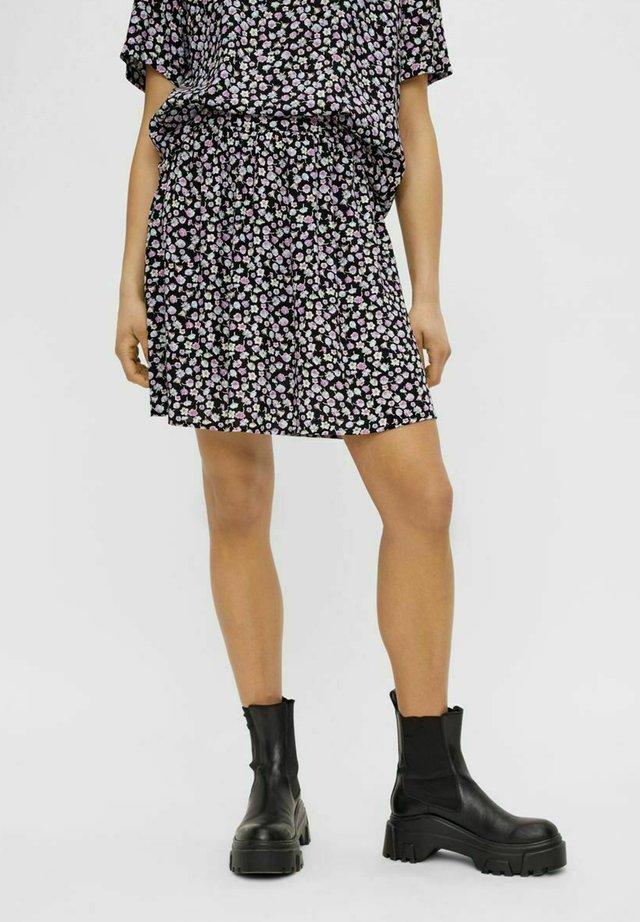 PCNYA SKIRT - Spódnica mini - black