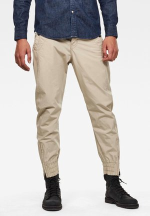 3D RELAXED - Trousers - khaki