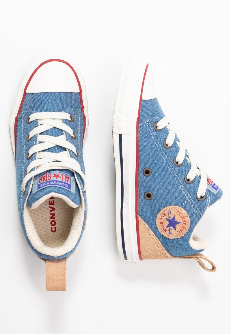 Converse - CHUCK TAYLOR ALL STAR OLLIE - Zapatillas altas - blue slate/court blue