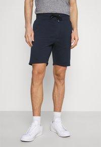 Pier One - 2 PACK - Shorts - mottled light grey/dark blue - 3