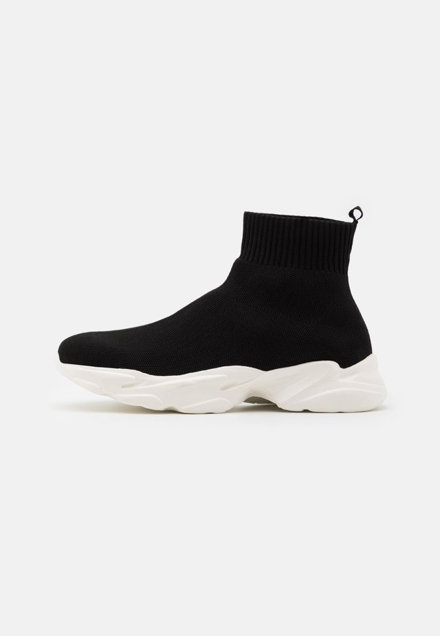 BIACASE SOCK - High-top trainers - black