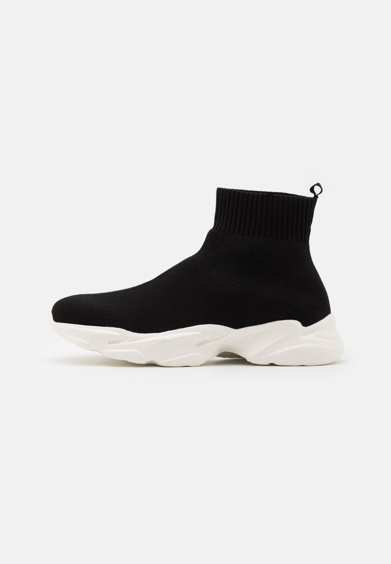 Bianco - BIACASE SOCK - Sneakersy wysokie - black